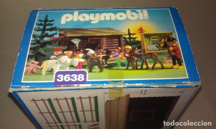 Playmobil: ZOO SILVESTRE CON CABAÑA DE CAMPO DE PLAYMOBIL REF. 3638 PRÁCTICAMENTE COMPLETO EN SU CAJA ORIGINAL - Foto 11 - 105698667