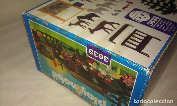 Playmobil: ZOO SILVESTRE CON CABAÑA DE CAMPO DE PLAYMOBIL REF. 3638 PRÁCTICAMENTE COMPLETO EN SU CAJA ORIGINAL - Foto 12 - 105698667