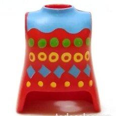 Playmobil: PLAYMOBIL PIEZAS,TORSO CHICA,ROJO Y ESTAMPADO ,CAMPESINA,CIUDAD,VICTORIANOS,OESTE BELÉN,MEDIEVALES. Lote 105708867