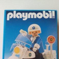 Playmobil: MOTO PLAYMOBIL 3564 - POLICÍA, HARLEY DAVIDSON - AÑO 1990 - ERICTOYS. Lote 105805587
