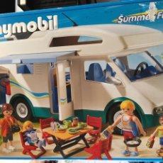 Playmobil: PLAYMOBIL 6671-AUTOCARAVANA EN CAJA. Lote 105893135