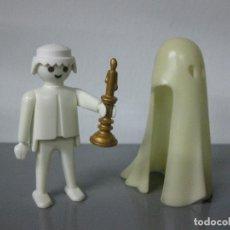 Playmobil: PLAYMOBIL REFERENCIA 3317 FANTASMA CASTILLO MEDIEVAL CON SABANA Y CANDELABRO. Lote 106154979