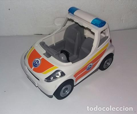 AUTOMOVIL POLICIA O SEGURIDAD GRANDE PLAYMOBIL (Juguetes - Playmobil)