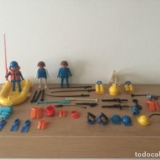 Playmobil: LOTE PESCA Y CAZA FAMOBIL PLAYMOBIL. Lote 107191727