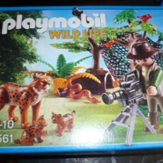 Playmobil: PLAYMOBIL -5561--WILD LIFE FOTOGRAFO EN LA SELVA . Lote 107211071