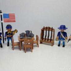 Playmobil: EJERCITO NORDISTA PLAYMOBIL 3806 FORT GLORY SOLDADO FUERTE YANKI AMERICANO. Lote 110080102