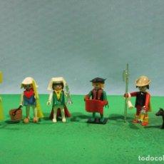 Playmobil: PLAYMOBIL-REF-3292-MEDIEVAL-ESCRIBANO-COMPLETO-1ª EPOCA-(MANOS FIJAS). Lote 107669227