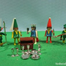 Playmobil: PLAYMOBIL-REF-3263-MEDIEVAL-REINA-COMPLETO-1ª EPOCA-(MANOS FIJAS). Lote 107670343