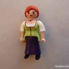 Playmobil: MUJER GRANJERA, MEDIEVAL. PLAYMOBIL. Lote 107696491