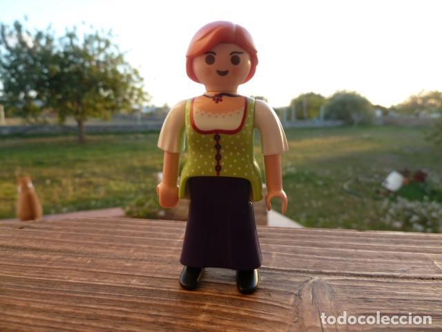 Playmobil: Mujer Granjera, Medieval. Playmobil - Foto 2 - 107696491