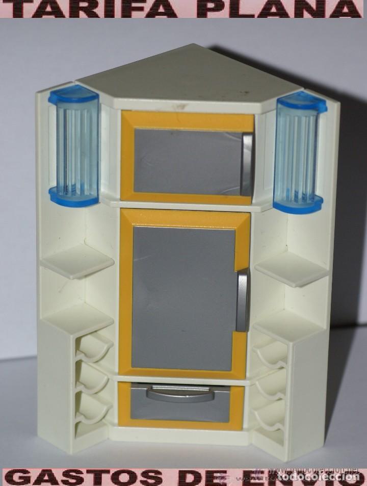 mueble cocina frigorifico de playmobil usado - Kaufen Playmobil in ...