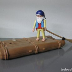 Playmobil: PLAYMOBIL BALSA TRONCOS PIRATA NAUFRAGO ISLA PIRATAS. Lote 107892523