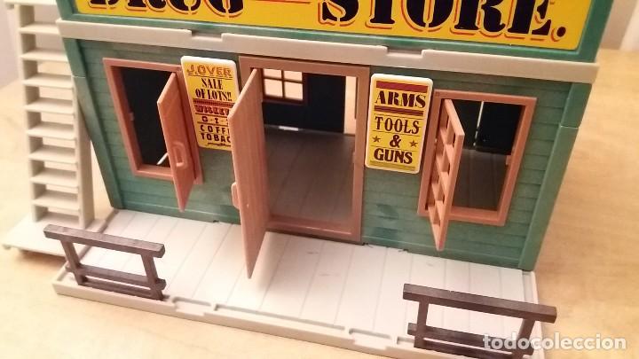 Playmobil: Playmobil 3462 (V1. Outline-Nr.). DRUG-STORE. Oeste (western). Caja e instrucciones. Muy completo - Foto 6 - 109050067