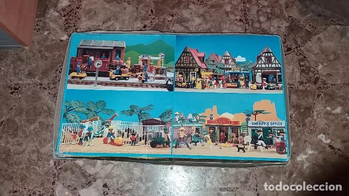 Playmobil: Playmobil 3462 (V1. Outline-Nr.). DRUG-STORE. Oeste (western). Caja e instrucciones. Muy completo - Foto 8 - 109050067
