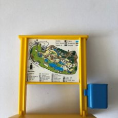 Playmobil: PLAYMOBIL ZOO CARTEL 3638. Lote 109200627