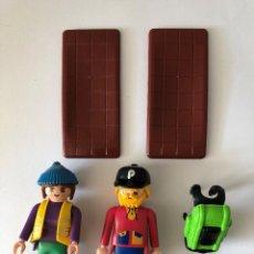 Playmobil: PLAYMOBIL ZOO EXCURSIONISTAS CUIDADORA CAMARA CITY 3638. Lote 109200883