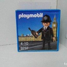 Playmobil: PLAYMOBIL 9237 POLICIA INGLES NUEVO EN CAJA. Lote 109526215