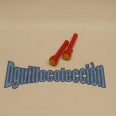 Playmobil: PLAYMOBIL LINTERNAS POLICIA LADRON CACO. Lote 109732011