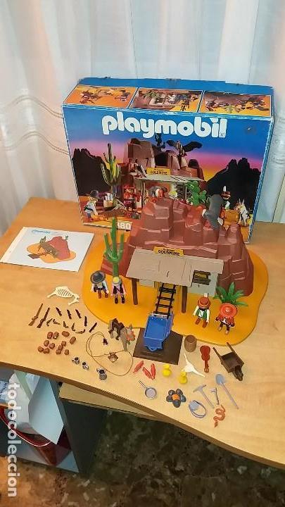 Playmobil: Playmobil 3802. MINA DE ORO MC LAREN'S. Completo con caja e instrucciones. Oeste (Western) - Foto 2 - 110259127