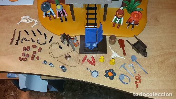 Playmobil: Playmobil 3802. MINA DE ORO MC LAREN'S. Completo con caja e instrucciones. Oeste (Western) - Foto 4 - 110259127