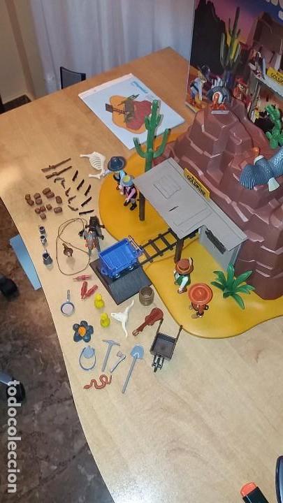 Playmobil: Playmobil 3802. MINA DE ORO MC LAREN'S. Completo con caja e instrucciones. Oeste (Western) - Foto 6 - 110259127