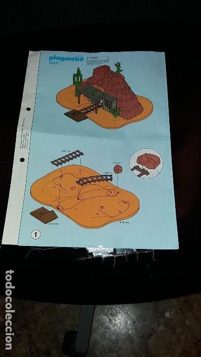 Playmobil: Playmobil 3802. MINA DE ORO MC LAREN'S. Completo con caja e instrucciones. Oeste (Western) - Foto 7 - 110259127