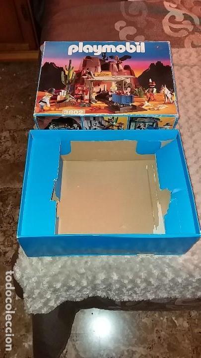 Playmobil: Playmobil 3802. MINA DE ORO MC LAREN'S. Completo con caja e instrucciones. Oeste (Western) - Foto 8 - 110259127