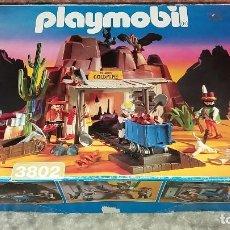 Playmobil: PLAYMOBIL 3802. MINA DE ORO MC LAREN'S. COMPLETO CON CAJA E INSTRUCCIONES. OESTE (WESTERN). Lote 110259127