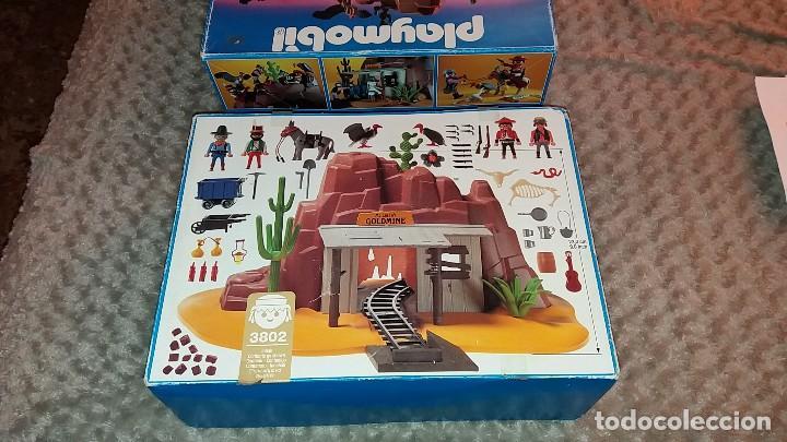 Playmobil: Playmobil 3802. MINA DE ORO MC LAREN'S. Completo con caja e instrucciones. Oeste (Western) - Foto 9 - 110259127