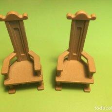 Playmobil - Playmobil Lote silla trono reí cena medieval - 110735563