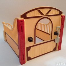 Playmobil: PLAYMOBIL CUADRA CABALLO CABALLERIZA CABALLOS ANIMALES GRANJA ROMANOS MEDIEVAL CASTILLO ZOO. Lote 110849411