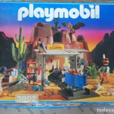 Playmobil: PLAYMOBIL REF. 3802. MINA DE ORO MC LAREN'S CON CAJA OESTE WESTERN. Lote 111057047