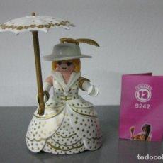 Playmobil - playmobil serie 12 rosa sobre sorpresa dama con paraguas ref 9242 sobres - 133625142