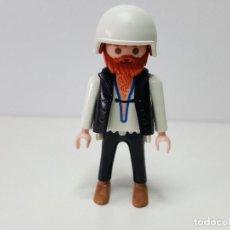 Playmobil: MOTERO MOTO PLAYMOBIL 3831 HEAVY METAL CHOPPER MOTOCICLETA MOTORISTA. Lote 111664143