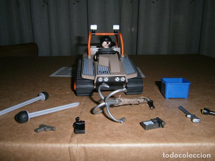 COCHE ORUGA PLAYMOBIL (Juguetes - Playmobil)