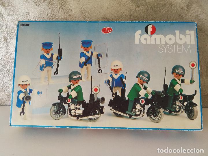 CAJA FAMOBIL REFERENCIA 3401 POLICÍA MOTOS PLAYMOBIL (Juguetes - Playmobil)