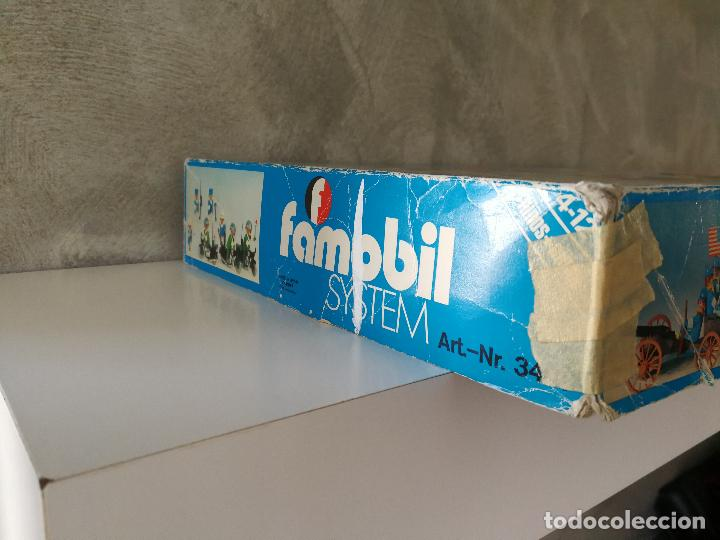 Playmobil: CAJA FAMOBIL REFERENCIA 3401 POLICÍA MOTOS PLAYMOBIL - Foto 3 - 112050631