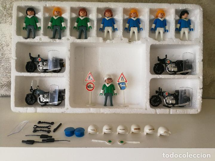 Playmobil: CAJA FAMOBIL REFERENCIA 3401 POLICÍA MOTOS PLAYMOBIL - Foto 7 - 112050631