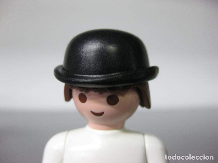 PLAYMOBIL SOMBRERO BOMBIN GORRO VICTORIANO ELEGANTE INGLES OESTE (Juguetes - Playmobil)
