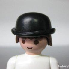 Playmobil: PLAYMOBIL SOMBRERO BOMBIN GORRO VICTORIANO ELEGANTE INGLES OESTE. Lote 195390568