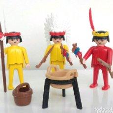 Playmobil: PLAYMOBIL INDIOS OESTE VINTAGE. Lote 112172847