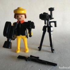 Playmobil: PLAYMOBIL - FAMOBIL 3302 - CÁMARA SAFARI CAZADOR - SIN CAJA. Lote 112241591