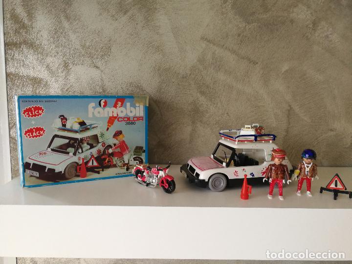 COCHE FAMOBIL COLOR 3680 EN CAJA (Juguetes - Playmobil)