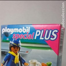 Playmobil: PLAYMOBIL 4761 SPECIAL PLUS AZAFATA AEROPUERTO (ZCETA). Lote 112669167