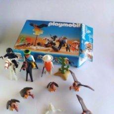 Playmobil: PLAYMOBIL OESTE - REF.3748 FORAJIDOS EN LA FRONTERA MADE IN SPAIN-FAMOBIL-. Lote 112695651