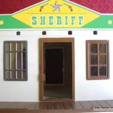 Playmobil: PLAYMOBIL CASA DEL SHERIFF Y DEL BANCO.. Lote 112773611
