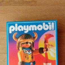 Playmobil: PLAYMOBIL 3877 INDIO HECHICERO. Lote 112795303