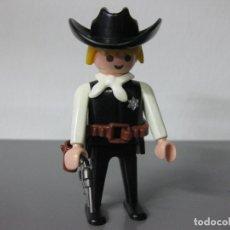 Playmobil: PLAYMOBIL SHERIFF OESTE VAQUERO SHERIF CON PISTOLA. Lote 112927207