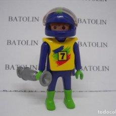 Playmobil: PLAYMOBIL FIGURAS PILOTOS CIUDAD . Lote 113015579