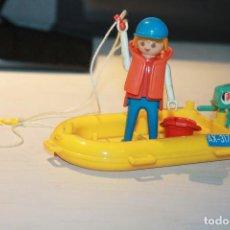 Playmobil: FAMOBIL LANCHA AX-317 CON PESCADOR. 3574 . INFORMACIÓN Y FOTOS.. Lote 113016567